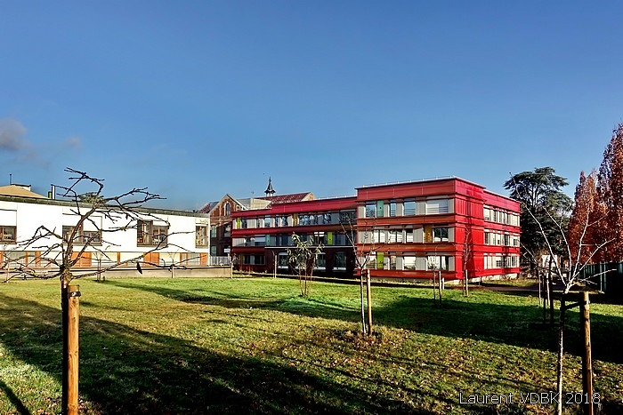 L'arrière du centre Hospitalier du Bois Petit rénové - Sotteville-lès-Rouen