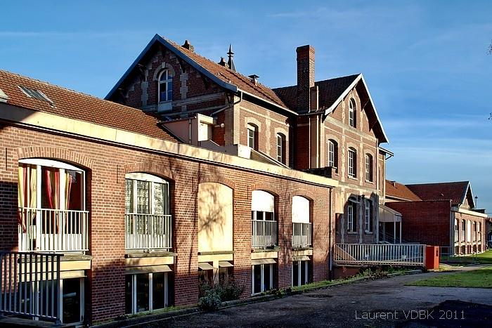 Le centre Hospitalier du Bois Petit vu par derrière - Sotteville-lès-Rouen