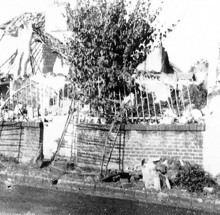 Bombardement de la rue Ledru-Rollin à Sotteville-lès-Rouen
