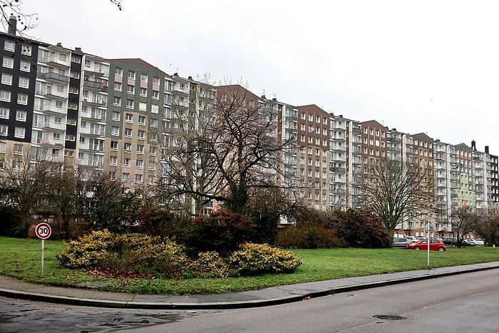 Immeuble Flandres - Rue de Paris - Sotteville-lès-Rouen