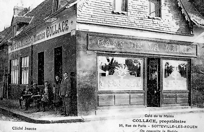 Café rue de Paris - Sotteville-lès-Rouen