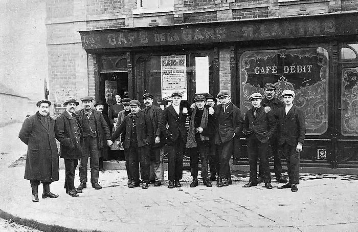 Café de la gare - Lamiré -angle rue de Paris et rue de la Gare - Sotteville-lès-Rouen