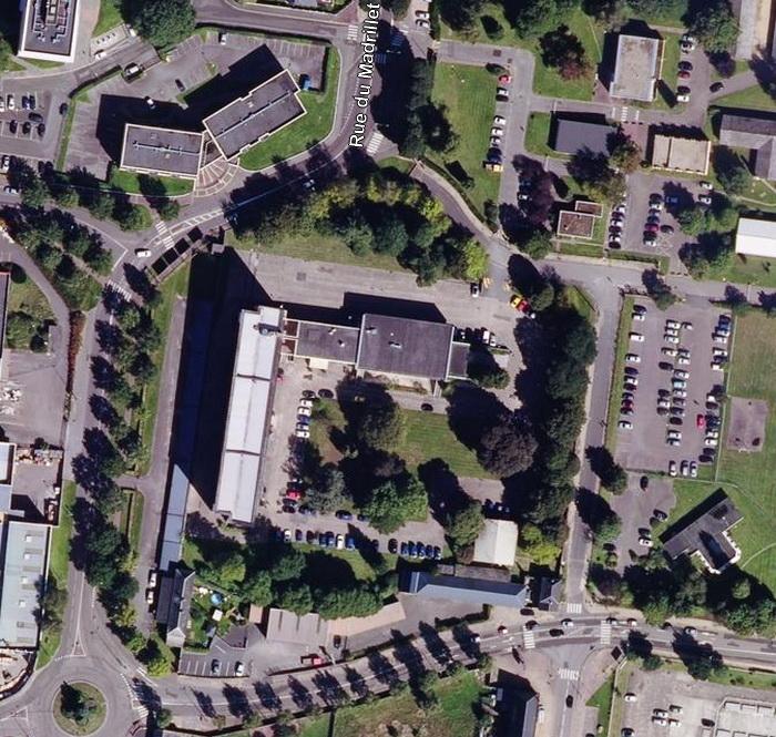 Vue aérienne de l'AFPA - Saint Etienne du Rouvray