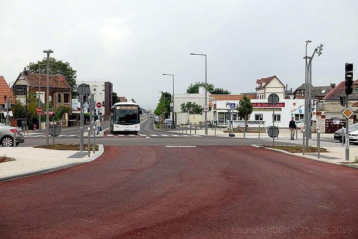 Ouverture de la ligne T4 le 25 mai 2019 - Rond-Point des Bruyères