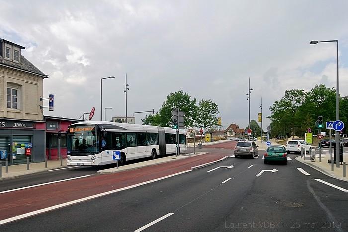 Ouverture de la ligne T4 le 25 mai 2019 - Rond-Point des Bruyères - Avenue des Canadiens