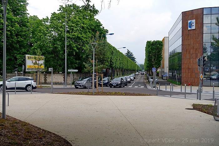 Ouverture de la ligne T4 le 25 mai 2019 - Rond-Point des Bruyères - Avenue du 14 juillet