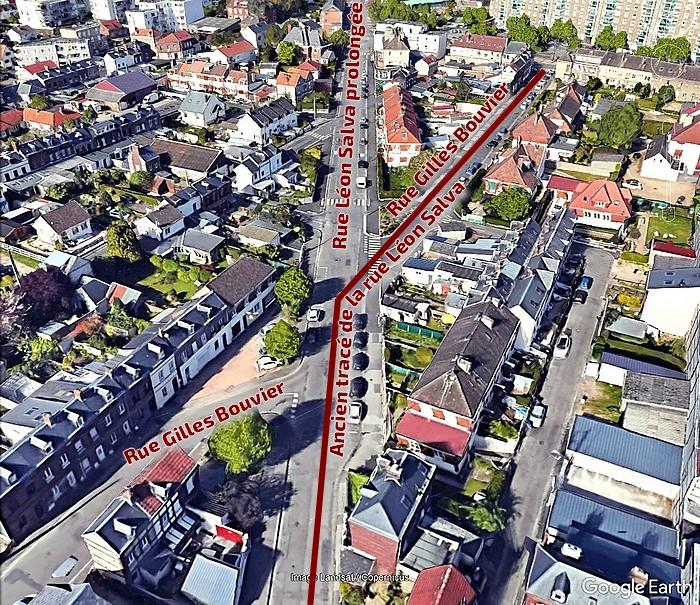 Prolongement de la rue Léon Salva - Sotteville-lès-Rouen