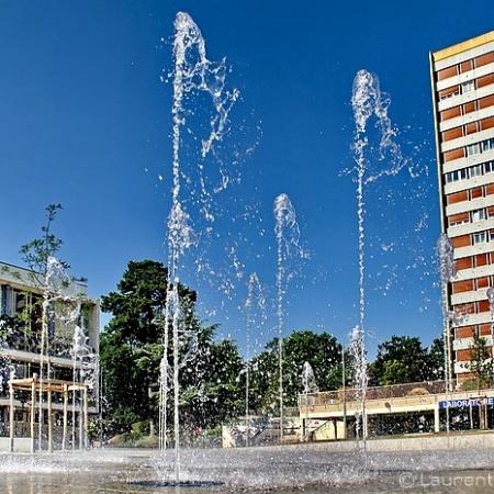 Fontaine de la place de l'Hôtel de Ville - Sotteville-lès-Rouen