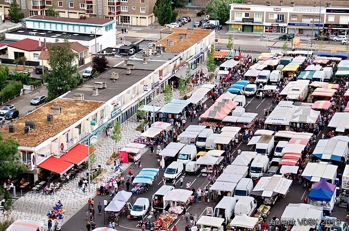 Marché de Sotteville-lès-Rouen