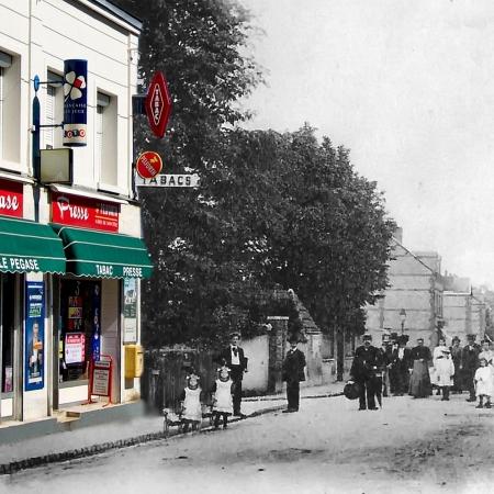 Café rue de Trianon