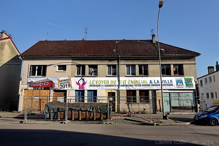 La maison citoyenne Grenet-Voltaire en chantier