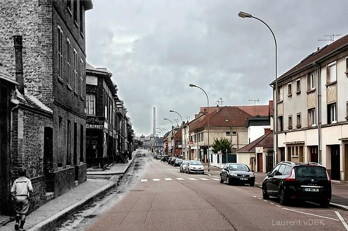 La rue Pierre Corneille - Sotteville-lès-Rouen