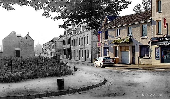 Rue Ledru-Rollin au carrefour de l'avenue de Grammont - Sotteville-lès-Rouen