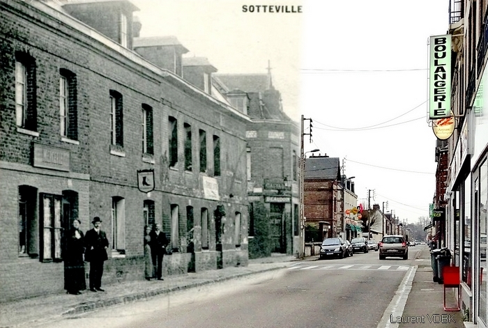 Commerces disparus rue de Trianon - Sotteville-lès-Rouen