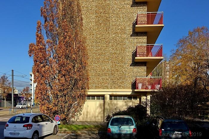 L'immeuble Bourgogne à Sotteville-lès-Rouen