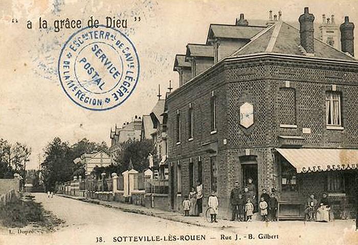 A la grace de Dieu au carrefour des rues du Madrillet et J.B. Gilbert - Sotteville-lès-Rouen