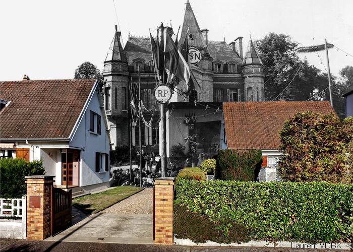 Le château Belliard (quartier Gadeau de Kerville) - Sotteville-lès-Rouen
