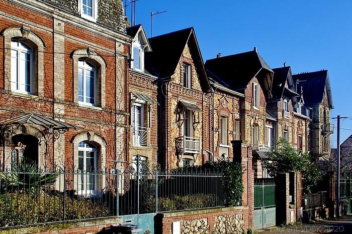 Villas rue Jean-Baptiste Gilbert à Sotteville-lès-Rouen