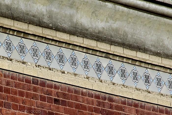 Décoration céramique Villas rue Jean-Baptiste Gilbert à Sotteville-lès-Rouen