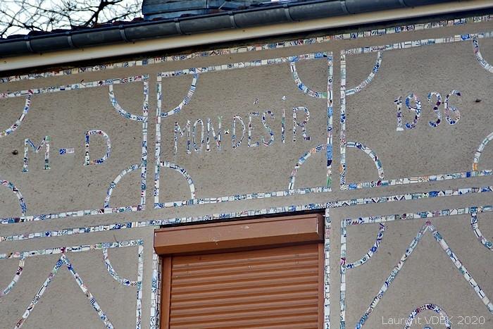"""Maison """"Mon désir"""" rue de la Nation à Sotteville-lès-Rouen"""