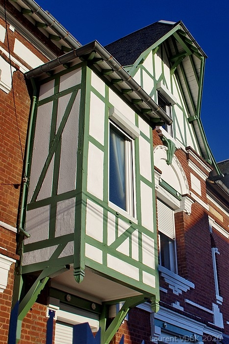 Villa à colombages rue Louis Loisel - Sotteville-lès-Rouen