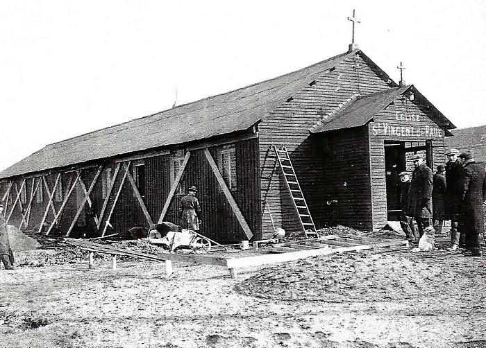 Déplacement chapelle provisoire église Saint Vincent de Paul