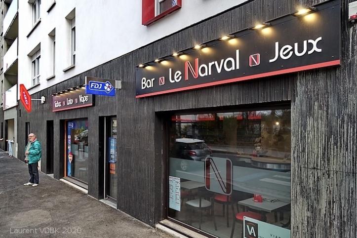Le nouveau bar-tabac Le Narval rue Raspail à Sotteville-lès-Rouen