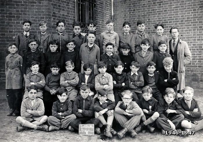 Photo de classe école Bayard 1946-1947 - Sotteville-lès-Rouen