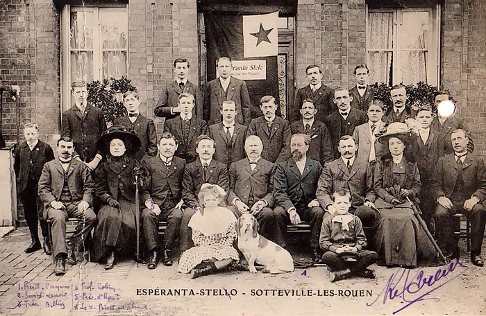 Le groupe Esperanta Stelo