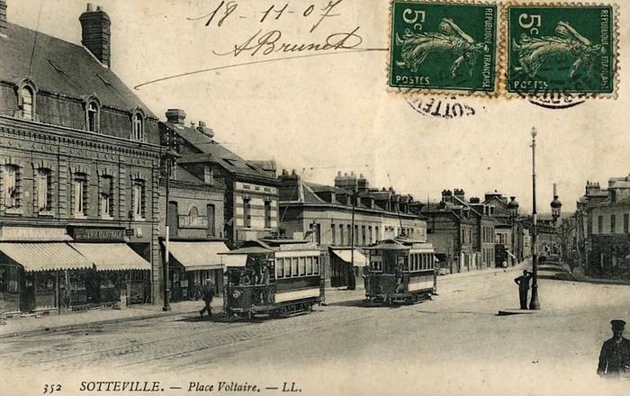 Place Voltaire - Sotteville-lès-Rouen