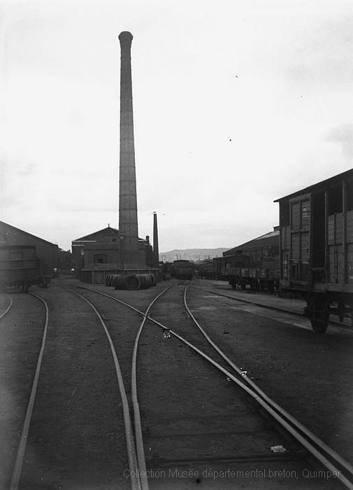 Ateliers chemin de fer Buddicom à Sotteville-lès-Rouen (André Le Chat)