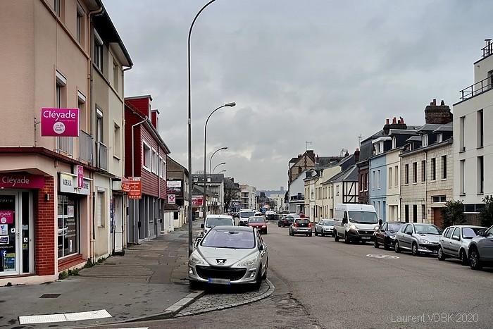 Rue Pierre Corneille (angle rue du Quatre Septembre) - Sotteville-lès-Rouen