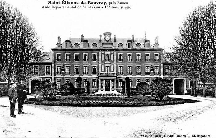 Asile départemental Quatre-Mare Saint-Yon (Centre Hospitalier du Rouvray)