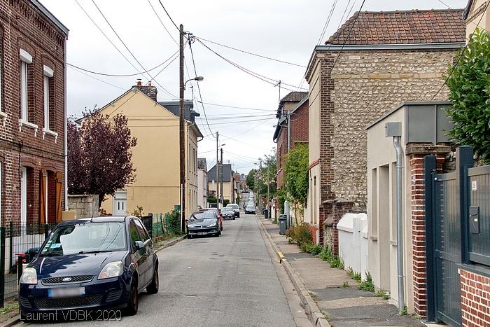 Rue Lemoine à Sotteville-lès-Rouen