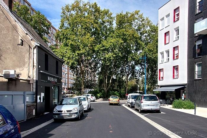 Rue Victor Hugo à Sotteville-lès-Rouen