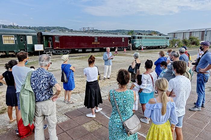 Journées du patrimoine à Sotteville-lès-Rouen organisées par l'Atelier 231 et le Pacific Vapeur Club