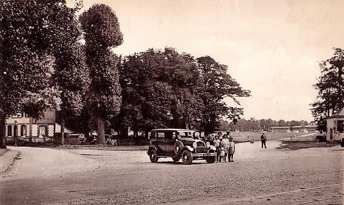 MCarte postale ancienne du rond-point du Champ de Course à Sotteville-lès-Rouen