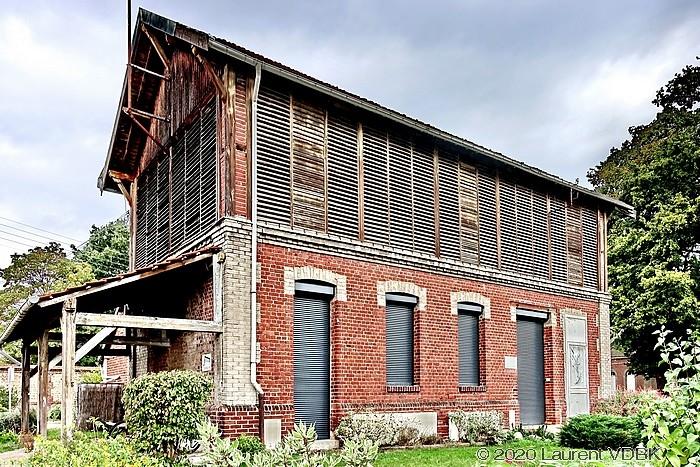 La buanderie de l'hospice (Bois Petit) à Sotteville-lès-Rouen