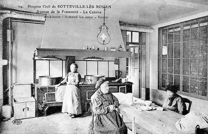 La cuisine de l'Hospice de Sotteville-lès-Rouen