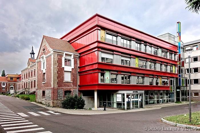 """Bâtiment """"L'orée du Bois"""" du centre hospitalier du Bois Petit à Sotteville-lès-Rouen"""