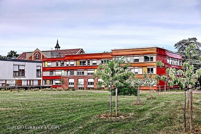 Verger du centre hospitalier du Bois Petit de Sotteville-lès-Rouen