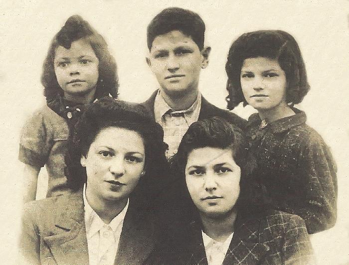 Les cinq enfants Kavayéro
