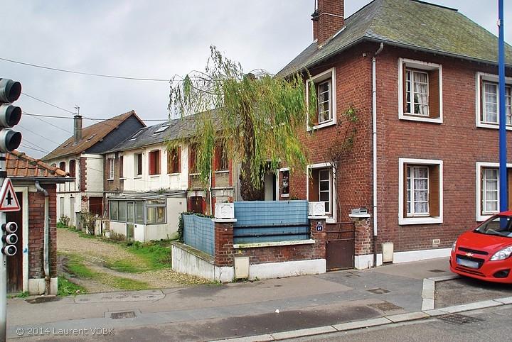 Rue Léon Blum à Sotteville-lès-Rouen