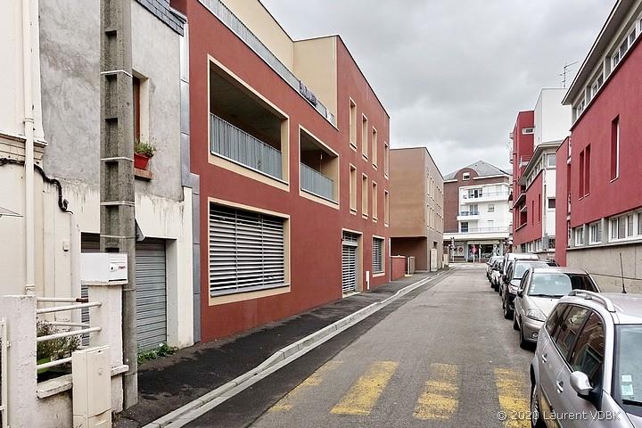 Résidence Simone Veil rue Quesney à Sotteville-lès-Rouen