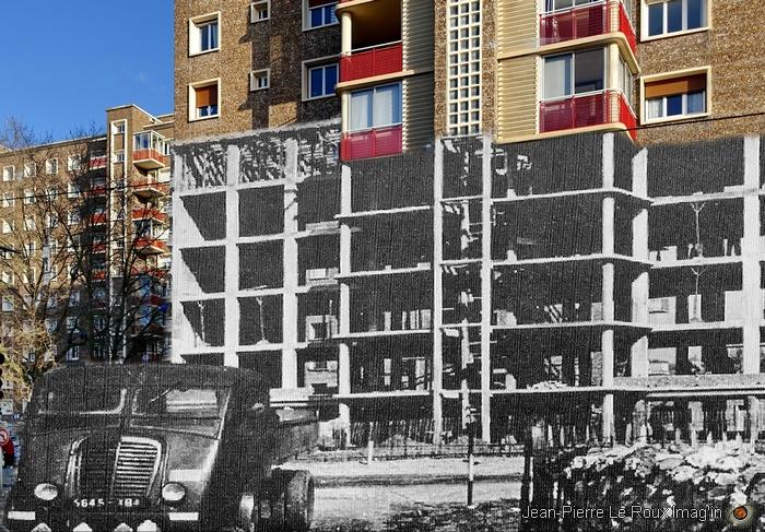 La construction de l'immeuble Bourgogne - Sotteville-lès-Rouen