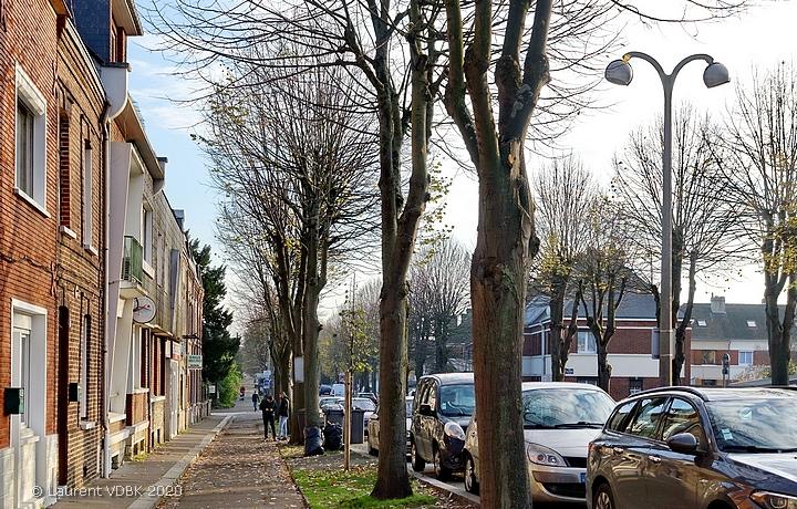 Rue de Paris à Sotteville-lès-Rouen