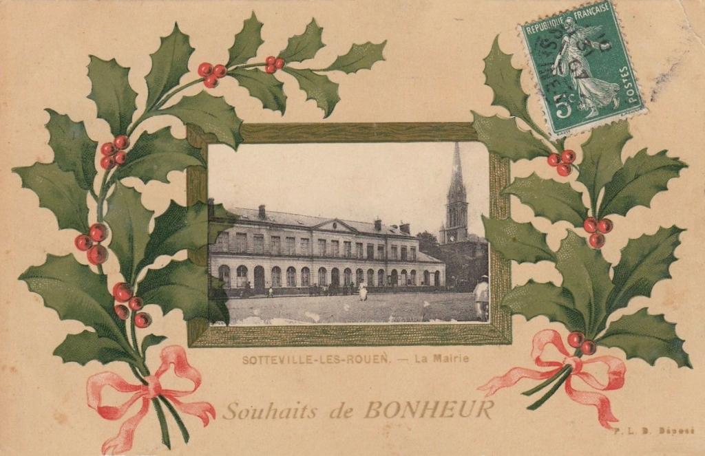Carte de voeux pour 2021 de Sotteville-lès-Rouen