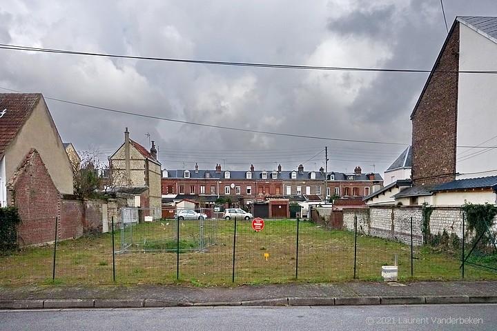 Terrain à bâtir rue Gilles-Bouvier à Sotteville-lès-Rouen