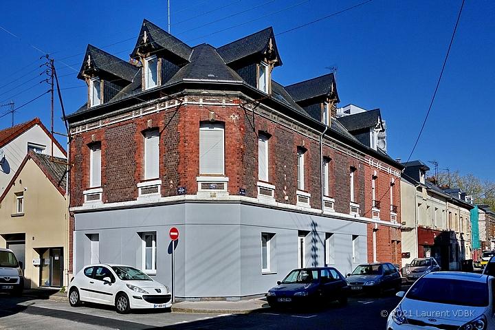 Local commercial transformé en habitation rue de Paris à Sotteville-lès-Rouen