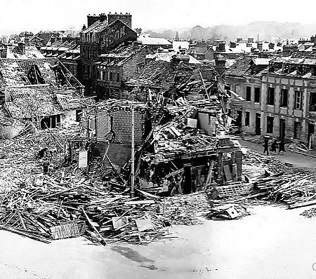 Bombardement du 19 avril 1944 à Sotteville-lès-Rouen